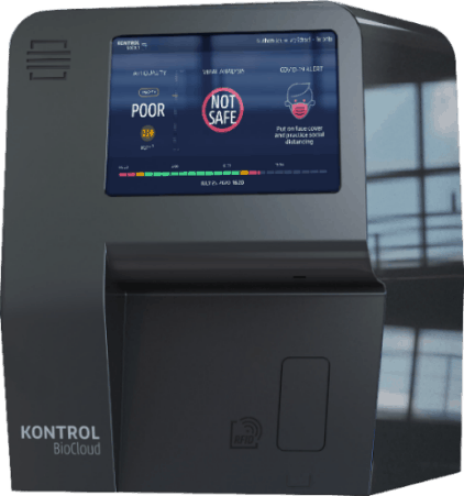 Kontrol Energy CEO Paul Ghezzi Answers Questions About Kontrol BioCloud®, An Airborne COVID-19 Detector